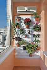 Экономпанель на балконе
